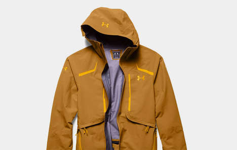 Lightweight Gortex Sport Jackets - The Under Armour Nimbus Shell is Thin, Insulated and Waterproof