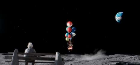 Lunar Christmas Commercials - John Lewis' 'Man on the Moon' Ad Shares the Spirit of Giving