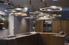 Lavish Kitchen Showrooms - Luxe Kitchen Brand 'Rossana' Opened Its First Showroom in the UK