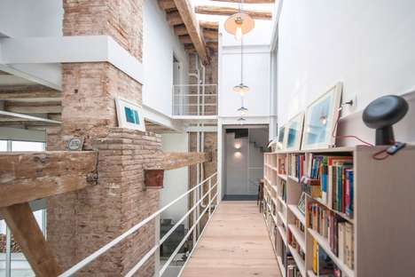 Repurposed Milk Shop Homes - This Contemporary Spanish Abode is Housed Inside a Former Milk Shop