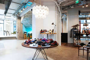The Sneakersnstuff France Location is an Elegant and Airy Boutique