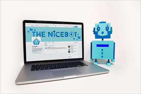 Kindness-Spreading Social Robots - The NiceBot is a Twitter Robot That Combats Social Media Bullying