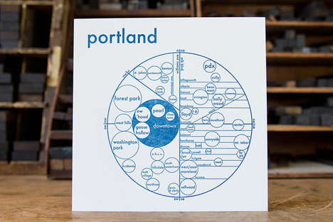 Mental Mapping Systems - These Neighborhood Maps Help Consumers Regain Their Sense of Direction