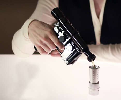 Galactic Booze Holders - The Han Solo DL-44 Blaster Flask Prototype is for Sipping Sci-Fi Shots