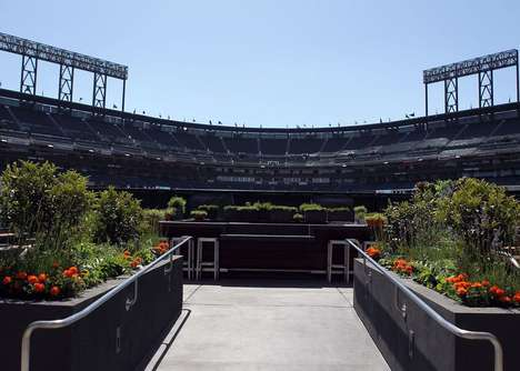 Ballpark Edible Gardens - AT&T Park, Home of the San Francisco Giants, is Producing Its Own Food