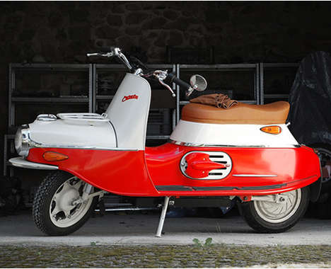 Hand-Built Retro Scooters