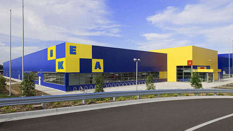 Modular Retail Logos - Design Firm Freytag Anderson Reimagines the IKEA Logo as a Moveable Image