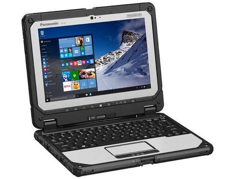 Outdoorsman Laptops - The Panasonic ToughBook 20 is Designed to Resist Dust, Dirt and Water