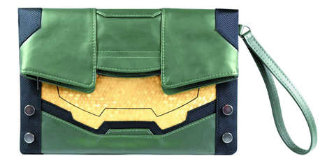 Video Game Purses - The Halo Master Chief Clutch Purse is for Girls Who Like to Game
