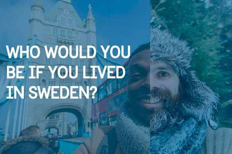 Swedish Doppelganger Campaigns - This Campaign Matches Users with Their Swedish Counterpart