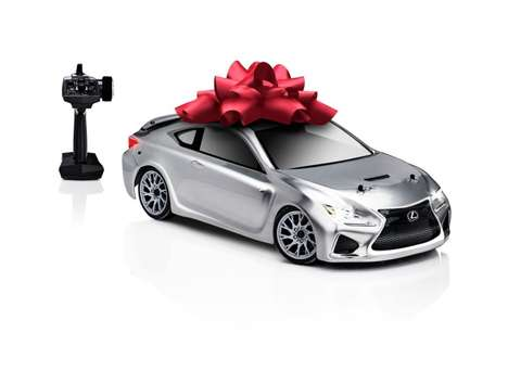 Remote Control Luxury Autos - This Lexus FC F Model Car is an Exact Replica of the Real Version