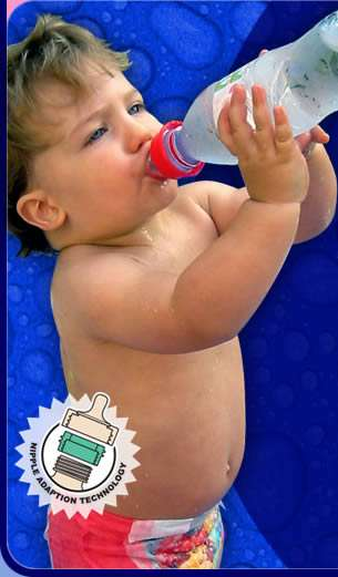 Water Bottle to Baby Bottle Adapter
