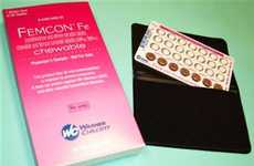 Spearmint Flavored Chewable Birth Control Pills