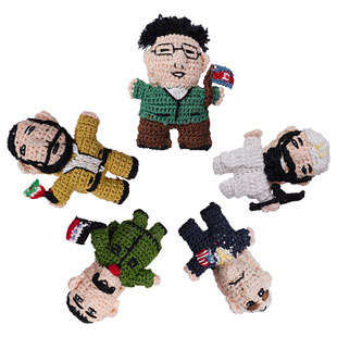 Political Puppets - The Terrorist Finger Puppets Make Dangerous Politics Fun