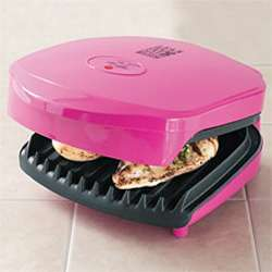 Pink George Foreman Special Edition Super Champ Grill