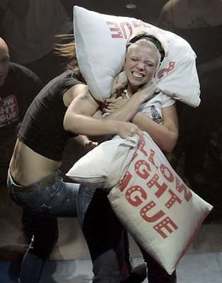 Pillow Fighting Now a Sport