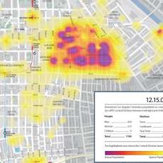 Heat Map of the Homeless
