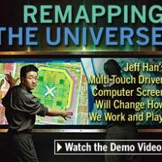 Multi-Touch Driven Computer Screen