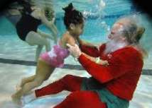 Santas Getting Sporty