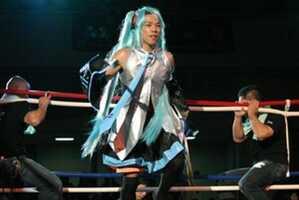 Nagashima's Cartoon Fighter Suit