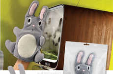 Toys as Cleaning Tools - The Dust Bunny