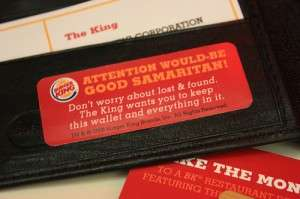 Burger King's Guerrilla Wallet Campaign