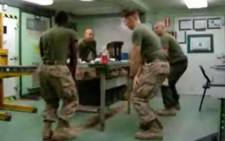 Dancing Marines
