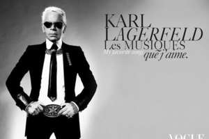 Karl Lagerfeld Illustrates 'La Petit Larousse Illustre'