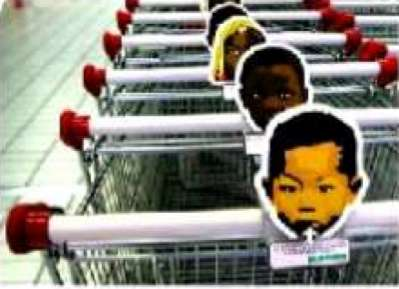Using Convenience to Inspire Charity - Coin-Collecting Shopping Carts