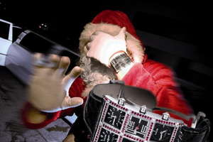 Santa Claus Recommends Icelink Watches
