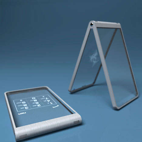 Glass Mobile Phones