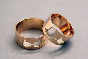 Personalized Audio Waveform Rings
