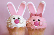 Bunny-Themed Baking - Rabbit Cakes