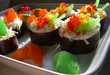 Sushi Cupcakes