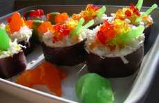 Sushi Cupcakes - Fish-Friendly Baking