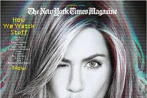 Jennifer Aniston in NYT Magazine's