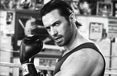 Boxing Editorials - Hugh Jackman in Vanity Fair Italy