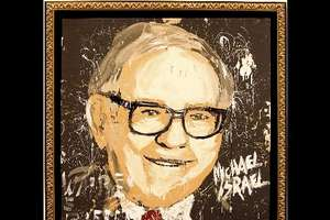 Warren Buffet Painting to Benefit Girls Inc