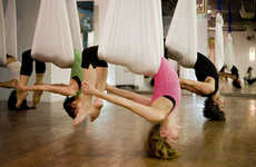 Suspended Workouts - AntiGravity Yoga