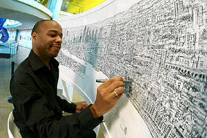 Incredible Art by Stephen Wiltshire, The Human Camera