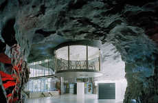 Repurposed Bomb Shelters - The Underground 'Bahnhof Office'