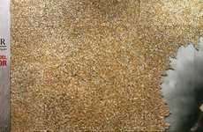 15,000 Cigarette Butts as Art - No-Smoker Day Campaign