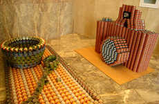 Sculpture Contests for Charity - Canstruction 2008