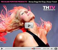 Peculiar Popstar Products - From Britney Spears Circus Scents to Snoop Dogg Hot Dogs