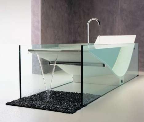 Minimalist Bathtubs - Omvivo 'Le Cob' Bath