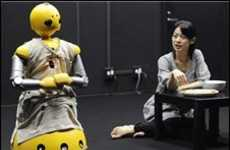 Robot Actors - Osaka University Stages First Human/Wakamaru Play