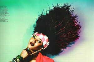Naomi Campbell for Mixte Magazine
