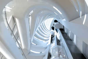 UNStudio's Curving Escalators at Star Place