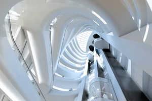 UNStudio's Curving Escalators at Star Place