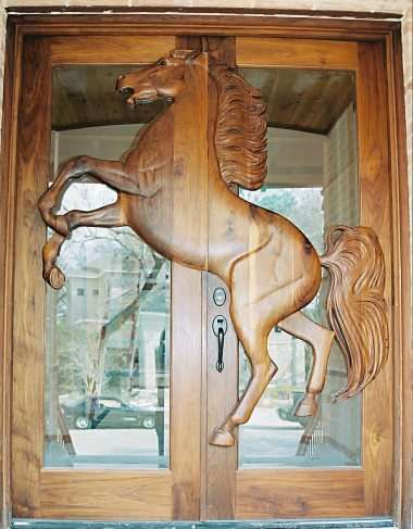 Custom Home Doors